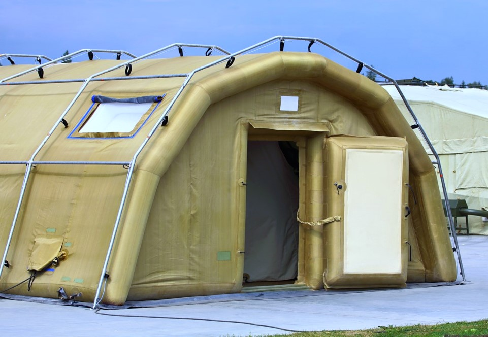 Small Inflatable Structures