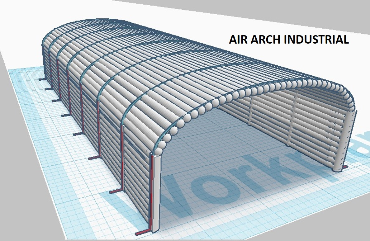 Air Arch Tunnel Dome Inflatable Building