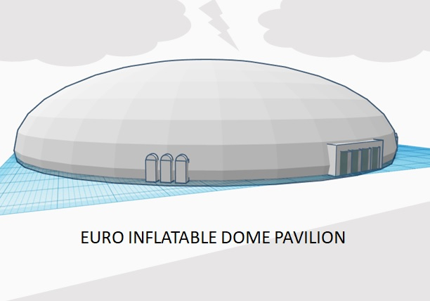 Euro Inflatable Dome Pavilion
