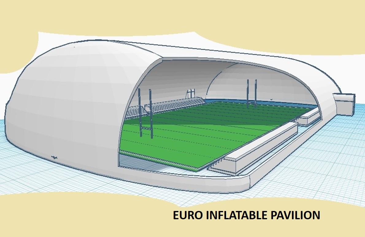 Air Arch Euro Inflatable Pavilion