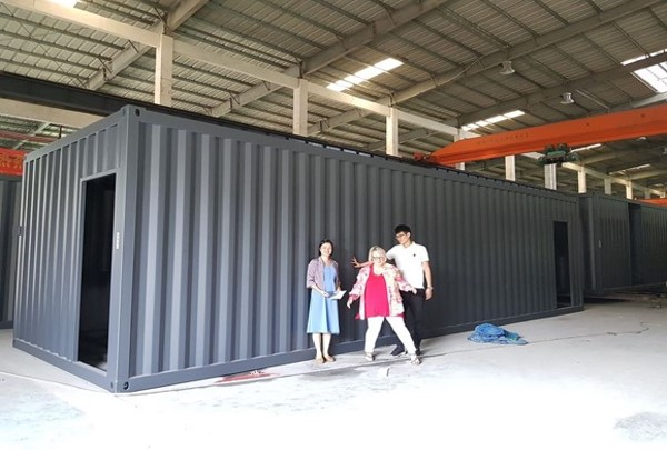 Sea Container Structures Ready Built