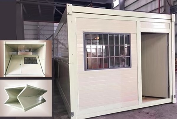 Expandable Cabins for Quick Construction